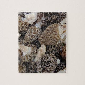 Quebra-cabeça Cogumelos do Morel