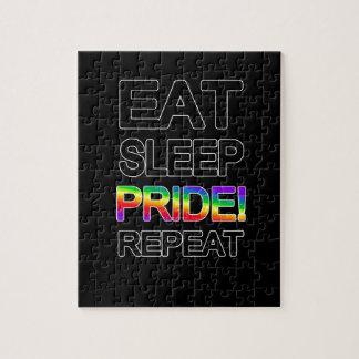 Quebra-cabeça Coma a repetição do orgulho do sono