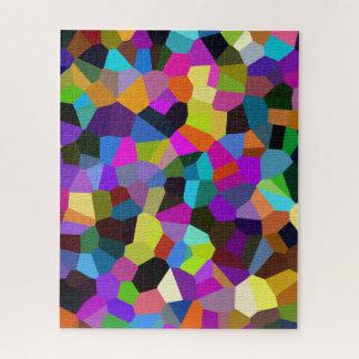 Quebra-cabeça Confetes em tons da jóia