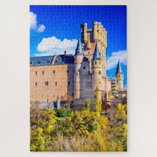 """Quebra-cabeça Confunda, 20"""" x 30"""", 1014 partes do castelo de"""