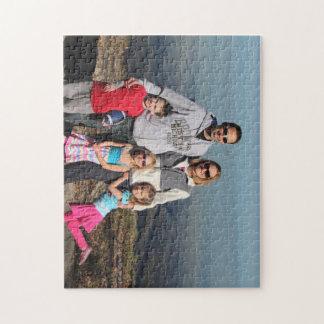 Quebra-cabeça Confunda com Chris, Sue & miúdos no lago