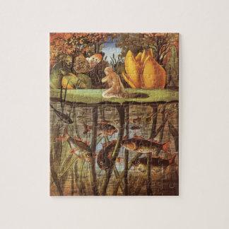Quebra-cabeça Conto de fadas de Thumbelina do vintage, Eleanor