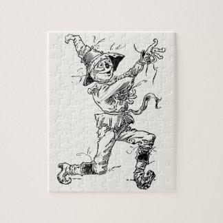 Quebra-cabeça Contos de fadas de mágico de Oz do vintage, o
