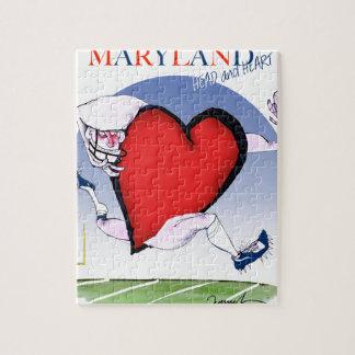 Quebra-cabeça coração principal de maryland, fernandes tony