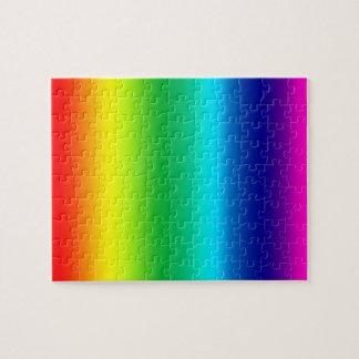 Quebra-cabeça Cores do arco-íris
