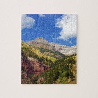 Quebra-cabeça Cores do outono do vale do Telluride