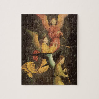 Quebra-cabeça Coro dos anjos por Simon Marmion, arte de