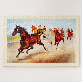 Quebra-cabeça Corrida de cavalos