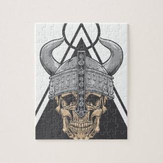 Quebra-cabeça Crânio de Viking