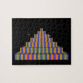 Quebra-cabeça da foto da PIRÂMIDE 8x10 de RAINBOX