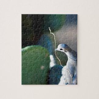 Quebra-cabeça da foto da pomba da natureza