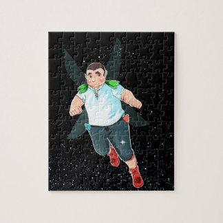 Quebra-cabeça da foto de Bubba 8x10 com caixa de