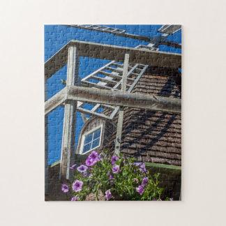 Quebra-cabeça da foto do moinho de vento