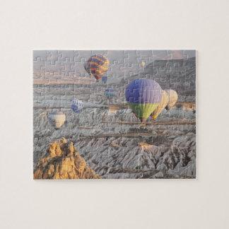 Quebra-cabeça da foto do vôo dos balões