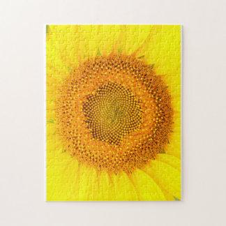 Quebra-cabeça da foto Sunflower11x14 com caixa de