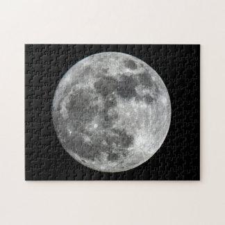 Quebra-cabeça da lua de Supermoon