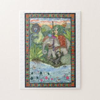 Quebra-cabeça da pintura da aguarela do livro II