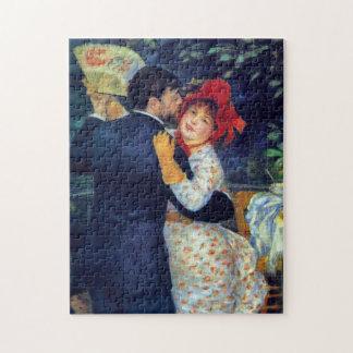 Quebra-cabeça Dança nas belas artes de Renoir do país