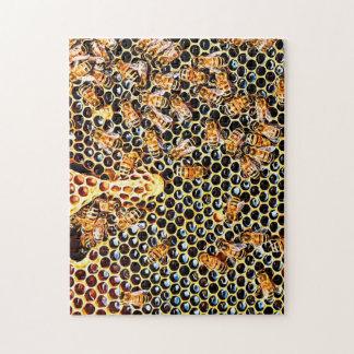 Quebra-cabeça das abelhas do mel