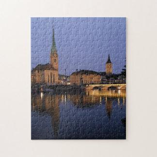 Quebra-cabeça das reflexões de Zurique