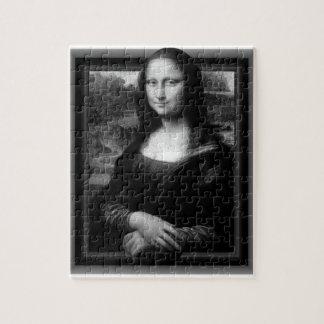 QUEBRA-CABEÇA de 3D MONA LISA [8X10 SOMENTE]