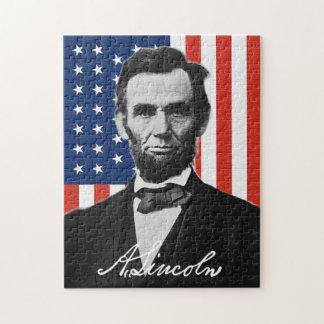 Quebra-cabeça de Abraham Lincoln