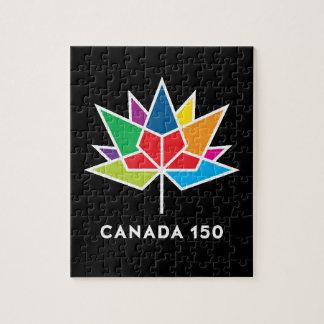 Quebra-cabeça de Canadá 150th