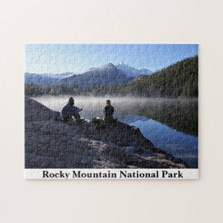 Quebra-cabeça de Colorado do parque nacional de
