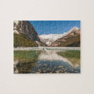 Quebra-cabeça de Lake Louise - de Canadá