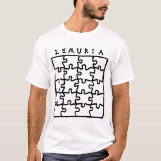 Quebra-cabeça de Lemuria Camiseta