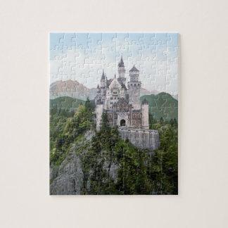 Quebra-cabeça de Neuschwanstein do castelo de