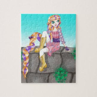 Quebra-cabeça de Rapunzel