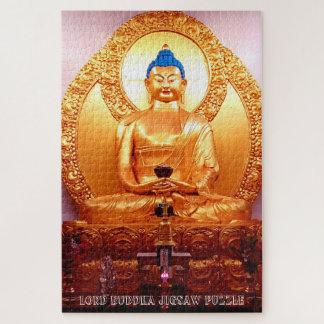 Quebra-cabeça de serra de vaivém do senhor Buddha