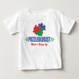 Quebra-cabeça de serra de vaivém engraçado t-shirts