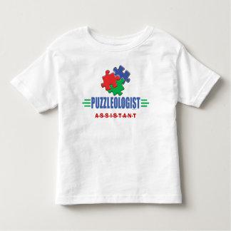 Quebra-cabeça de serra de vaivém engraçado tshirts