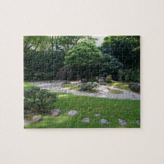 Quebra-cabeça de serra de vaivém japonês do jardim