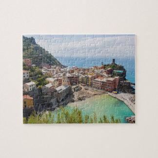 Quebra-cabeça de Vernazza - de Cinque Terre - de