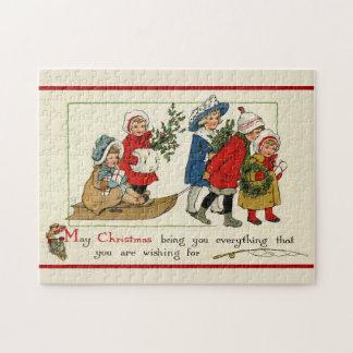 Quebra-cabeça Desejos do Natal