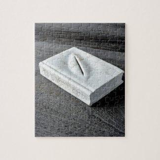 Quebra-cabeça Design das esculturas
