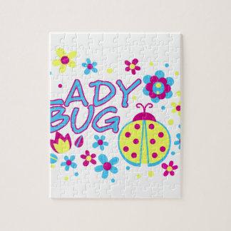 Quebra-cabeça Design do inseto da senhora