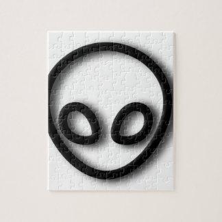 Quebra-cabeça Design estrangeiro das cinzas