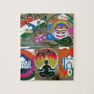Quebra-cabeça Design indiano étnico