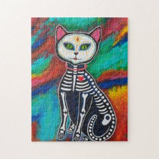 Quebra-cabeça Dia do gato inoperante
