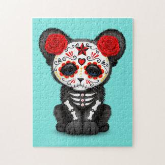 Quebra-cabeça Dia vermelho da pantera preta inoperante Cub