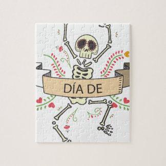 Quebra-cabeça Diâmetro DE Festival do morto