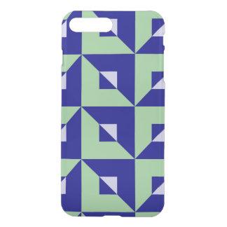 Quebra-cabeça do azul e do verde capa iPhone 7 plus