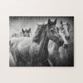 Quebra-cabeça do debandada do cavalo