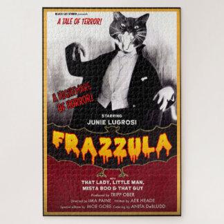 Quebra-cabeça do gato do monstro de Frazzula