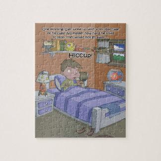 Quebra-cabeça do livro do soluço - 8x10 (PC 110)