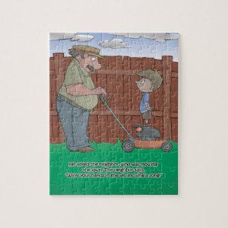 Quebra-cabeça do livro do soluço - vizinho - 8x10